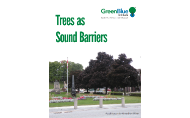 Trees As Sound Barriers Greenblue Urban