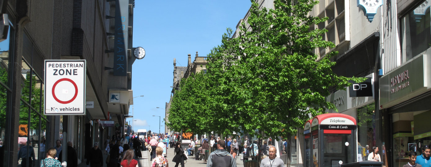 Encouraging Increase in Retail Sales with Urban Trees